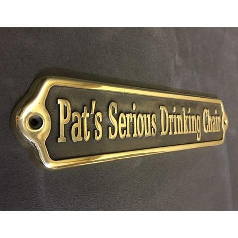 Cast Brass Informational Sign-Cast Bronze Commemorative Plaques-Signcast