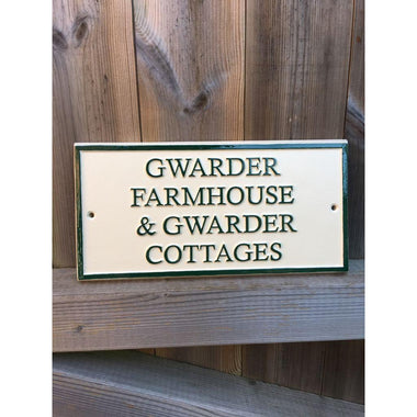 Cast Farmhouse & Holiday Cottage Signs-Business Signs-Signcast
