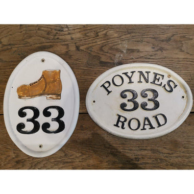 Refurbished Number Plaque-Refurbished Signs-Signcast
