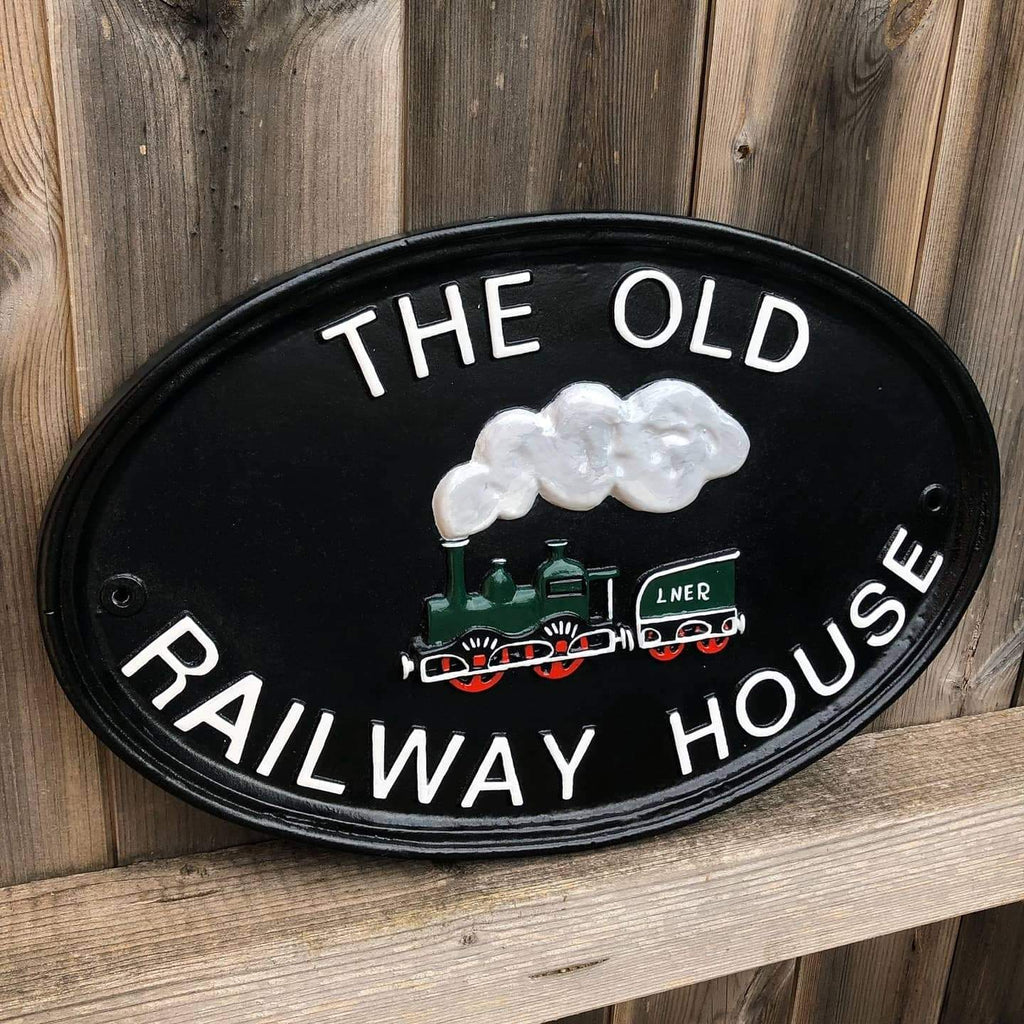 Refurbished Railway House Sign-Refurbished Signs-Signcast