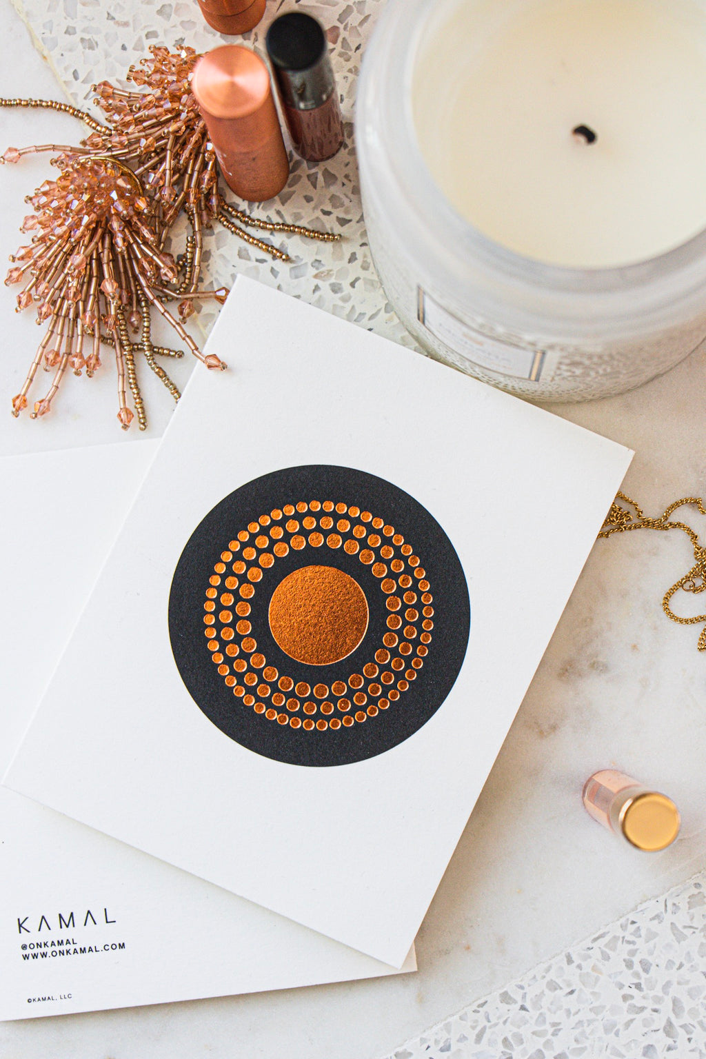 COPPER RANGOLI // SINGLE CARD