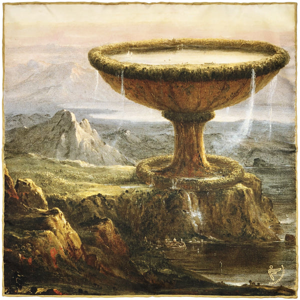 """Titan's Goblet"" by Thomas Cole"