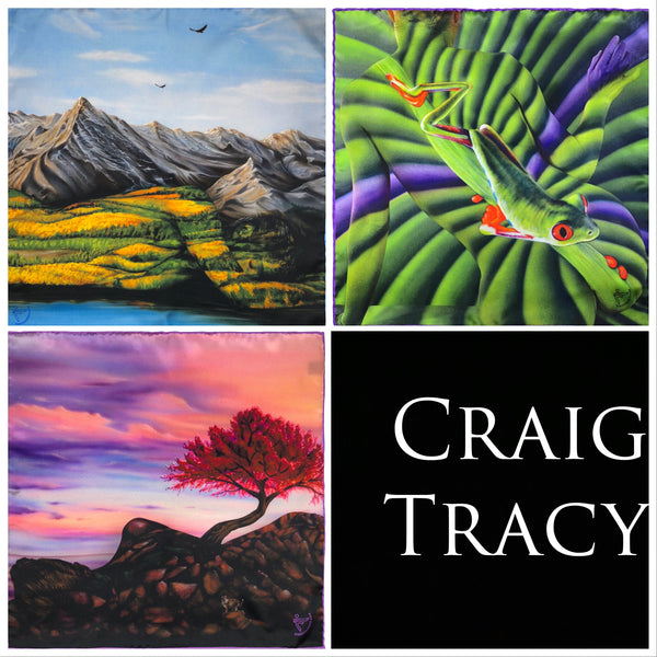 Set of Three from the Craig Tracy Collection