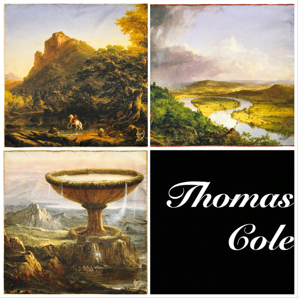 Set of Three from The Thomas Cole Collection