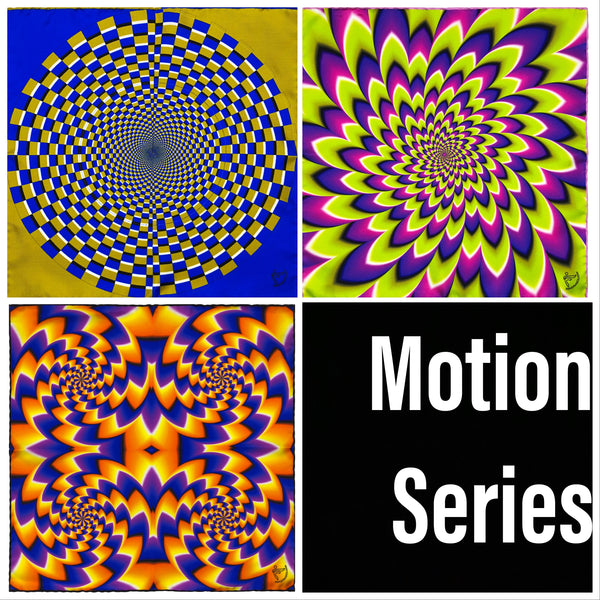 "Set of Three from the ""Images in Motion"" Series"