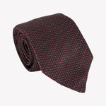 Black and Red Square Tie