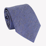 Textured Navy Blue Tie