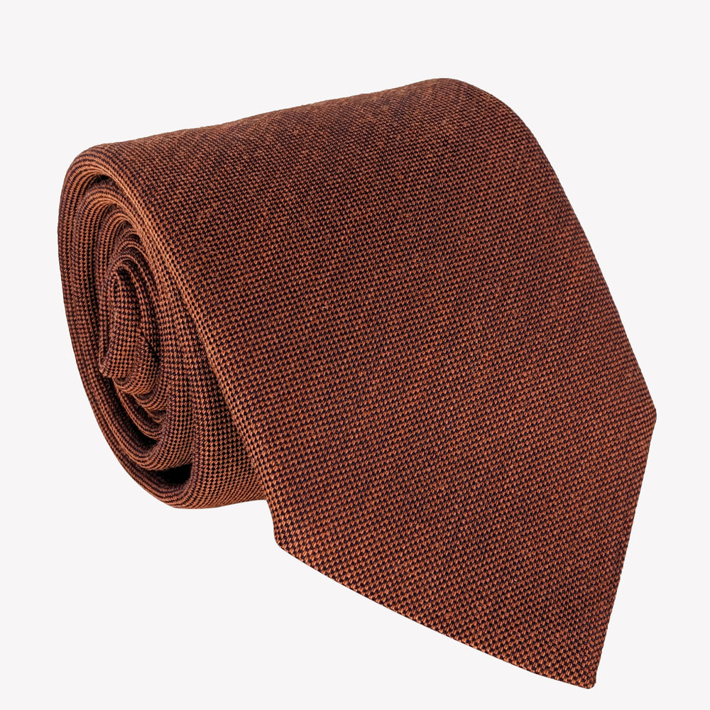 Textured Copper Tie