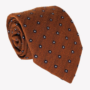 Dotted Copper Tie