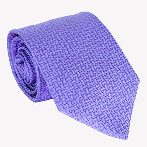 Lilac with Lattice Detail Tie