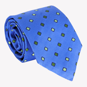 Blue Layered Weave Tie