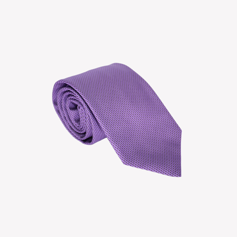 Solid Light Purple Tie
