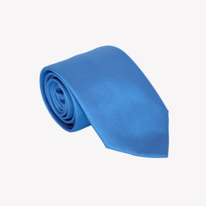 Solid Light Blue Tie