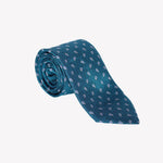Aqua Green with Paisley Tie