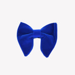 Royal Blue Velvet Bowties