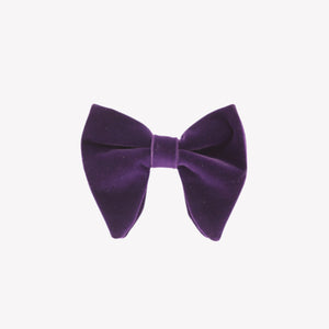 Purple Velvet Bowties