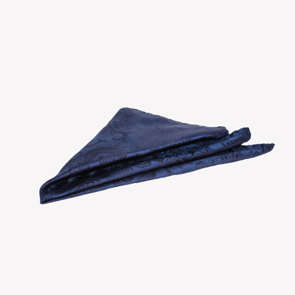 Midnight Blue Pocket Square