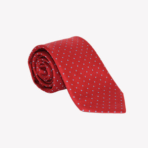 Red with Polka Dots Tie