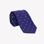 Blue with Green Polka Dots Tie