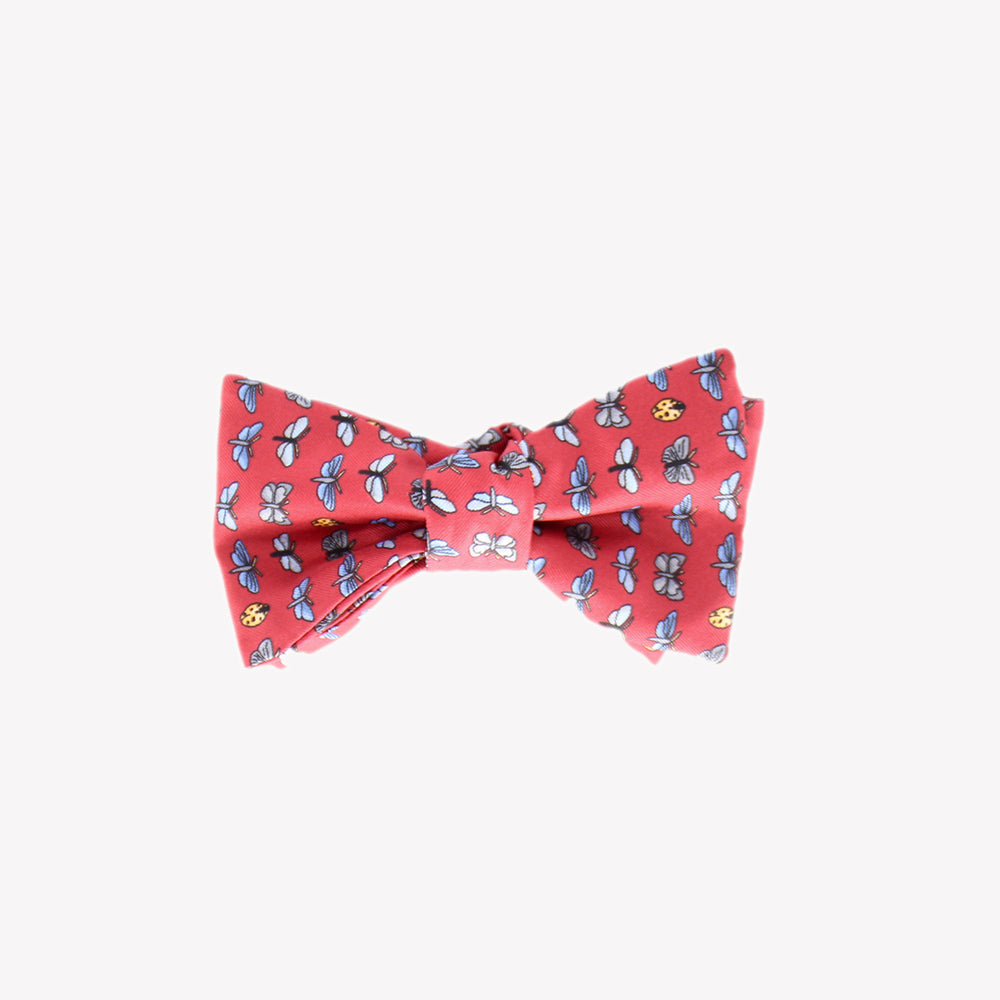 Red with Bugs Bowtie