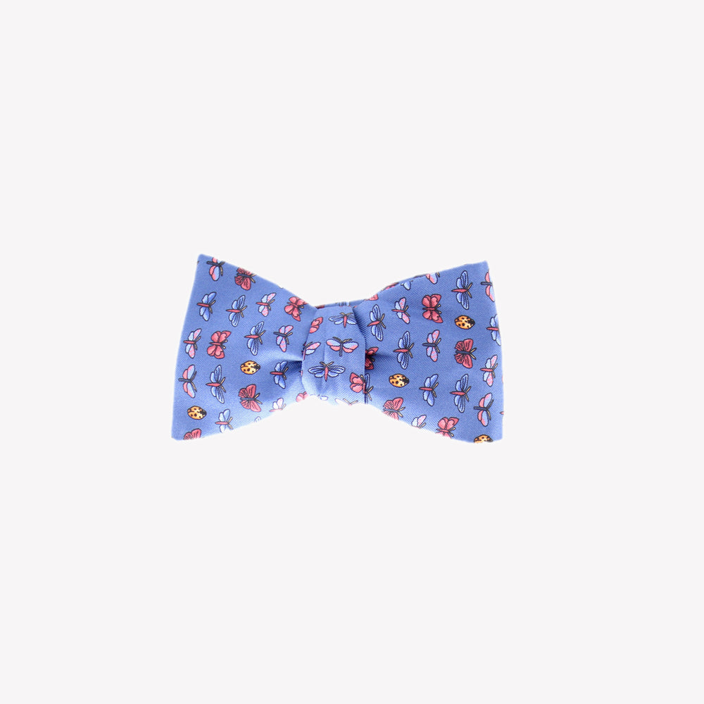 Blue with Bugs Bowtie
