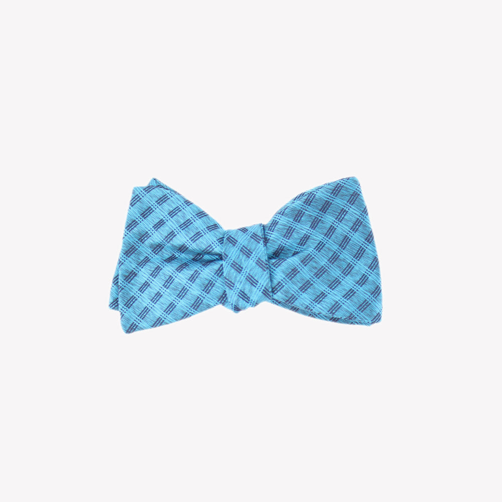 Light Blue Pattern Bowties