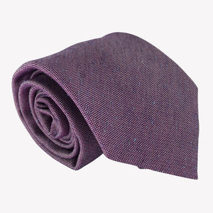 Metallic Purple Tie