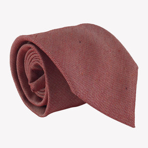 Textured Red and Gold Tie