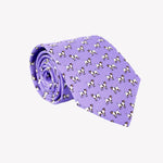 Light Purple with Dogs Tie