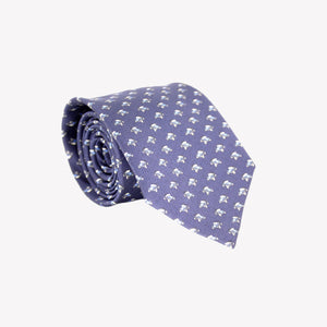 Blue with Blue Cars Tie