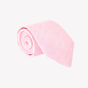 Solid Light Pink Tie