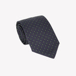 Black with Green Polka Dot Tie