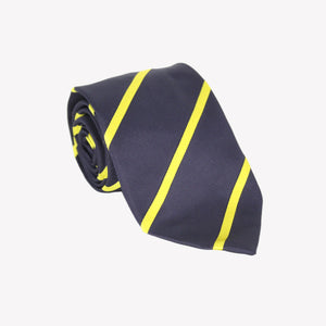Black with Yellow Stripe XL Tie
