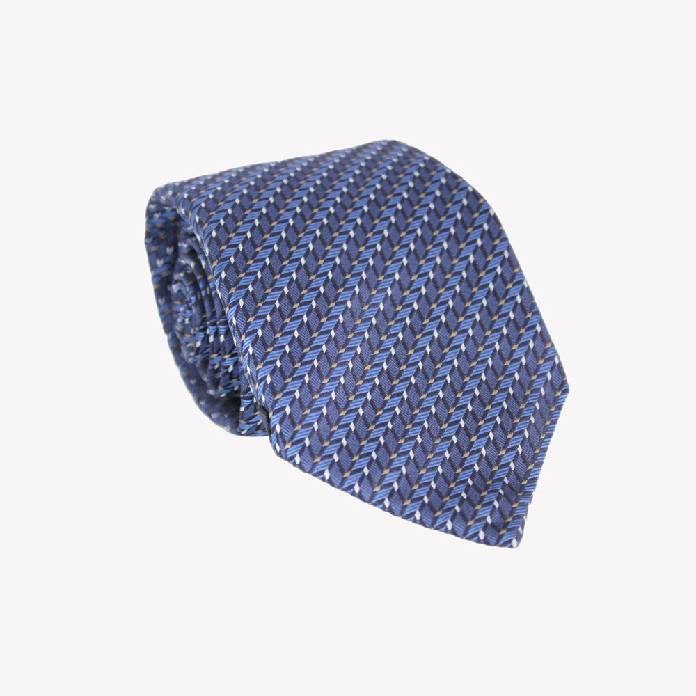 Blue Optic Tie