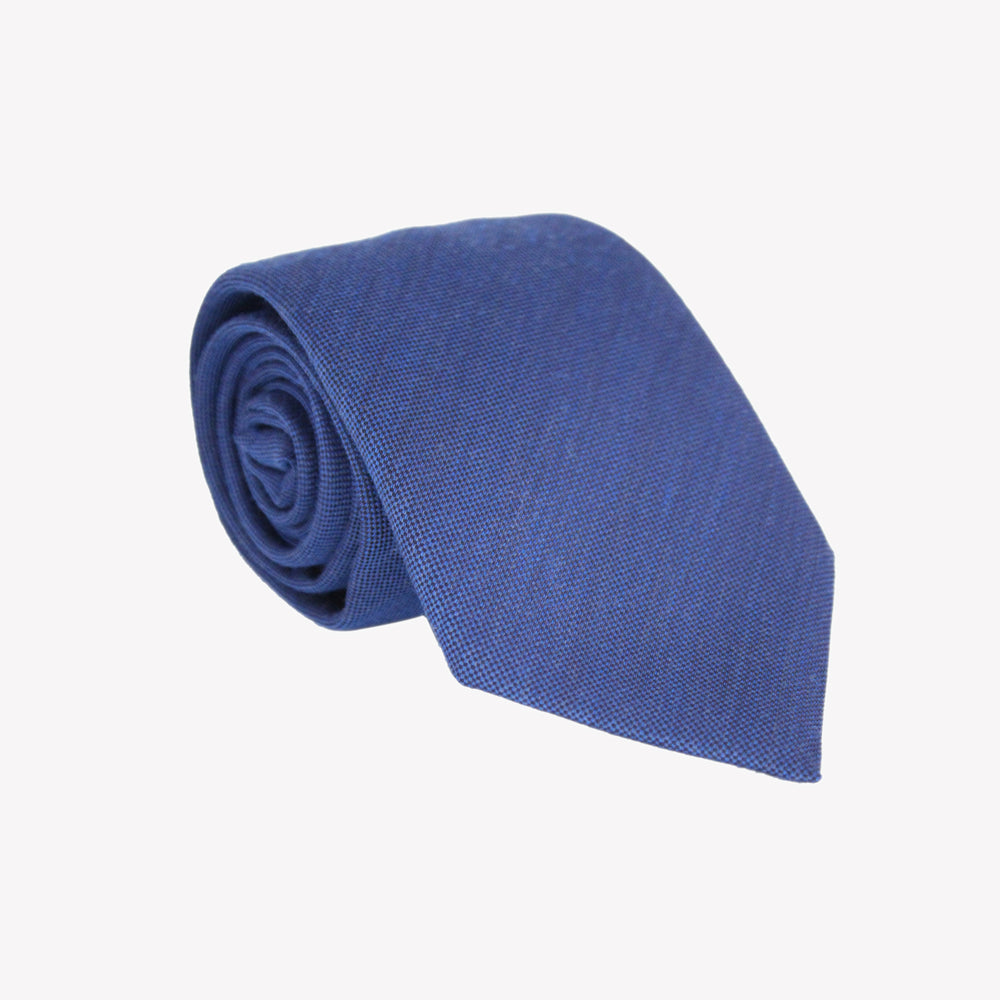 Light Blue Wool Tie