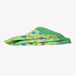 Light Green with Flowers Pocket Square