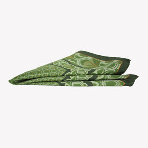 Irish Green Pocket Square