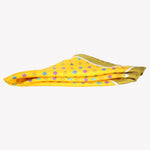 Yellow with Air Balloons Pocket Square