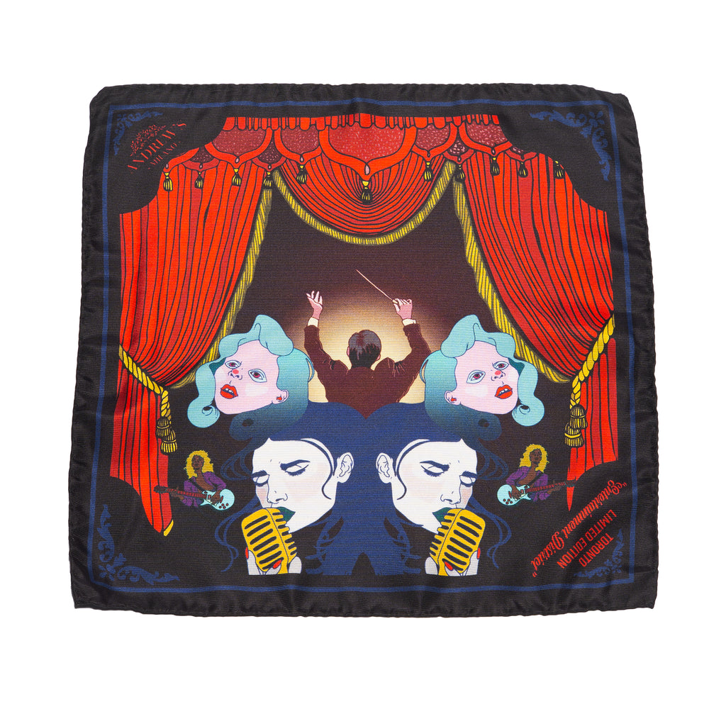 Entertainment Silk Pocket Square
