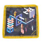 Financial Silk Pocket Square