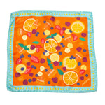 Fruits Silk Pocket Square