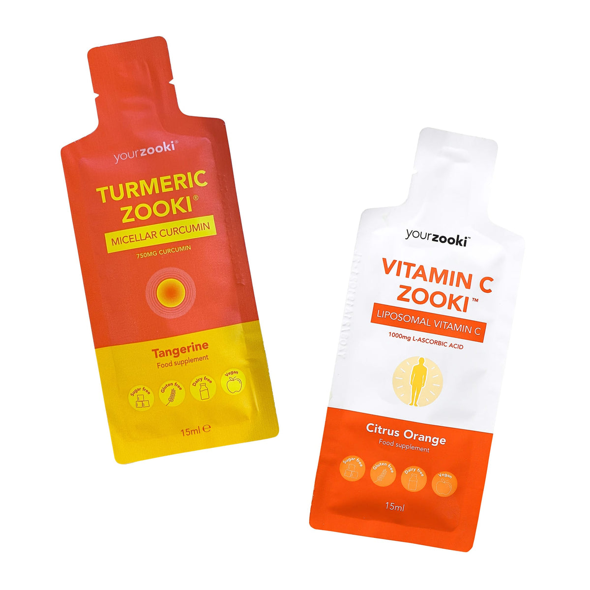 Vitamin C + Turmeric Zooki Monthly Bundle