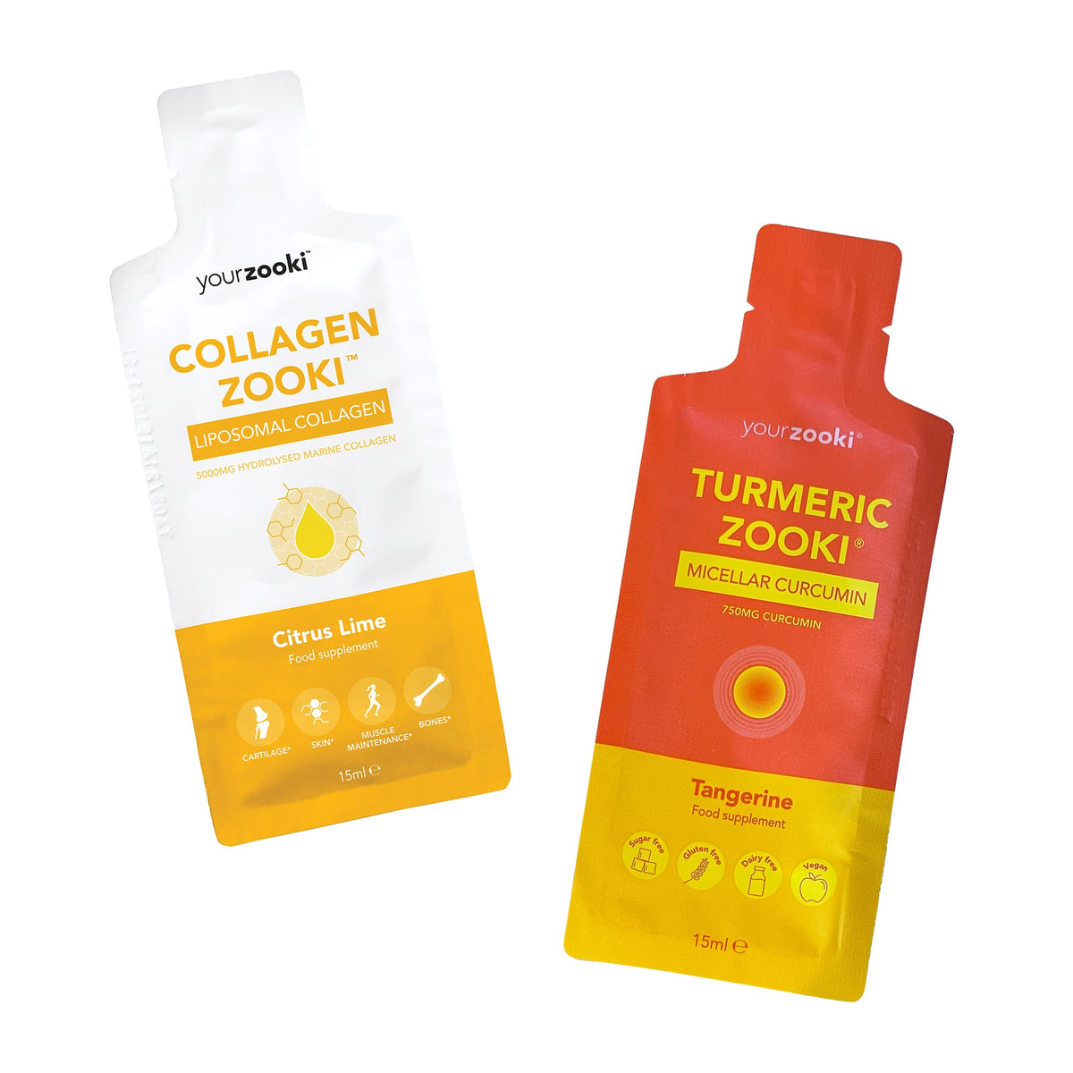 Collagen + Turmeric Zooki Monthly Bundle