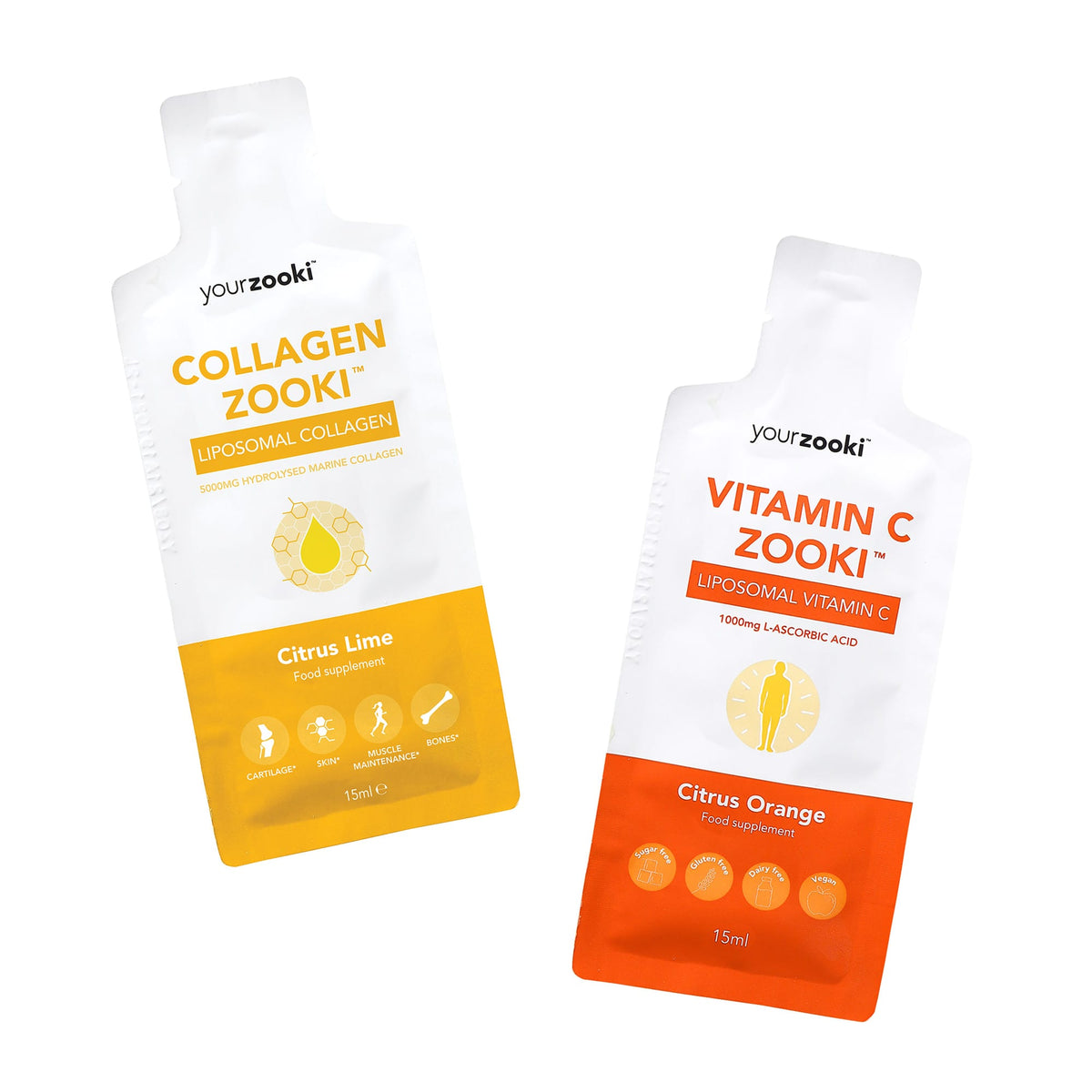 Vitamin C + Collagen Zooki Monthly Bundle