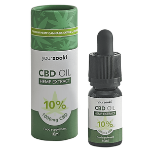 10% CBD Oil Drops (1000mg)