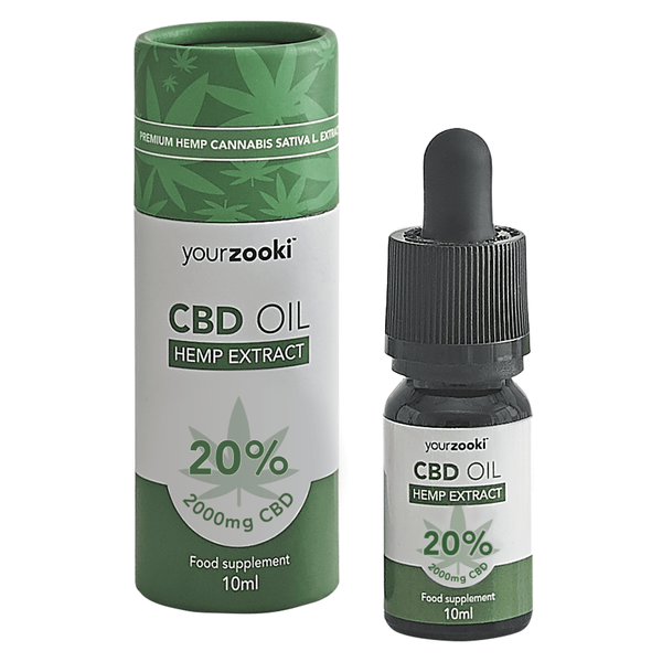 20% CBD Oil Drops (2000mg)