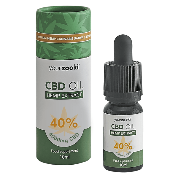 40% CBD Oil Drops (4000mg)