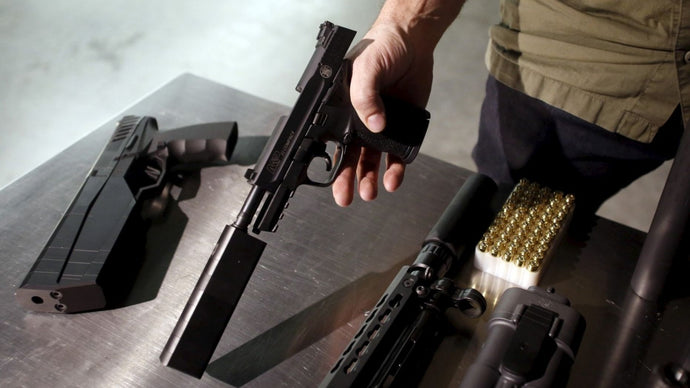 Republicans push gun silencer bill; Democrats fire back