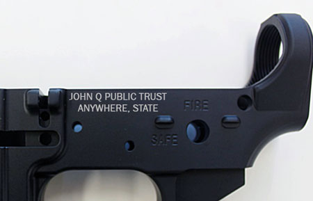 Do You Need to Engrave your Form 4 SBR/SBR?