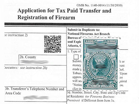 Is the Approved ATF Form 4 that you Receive in the Mail an Original?